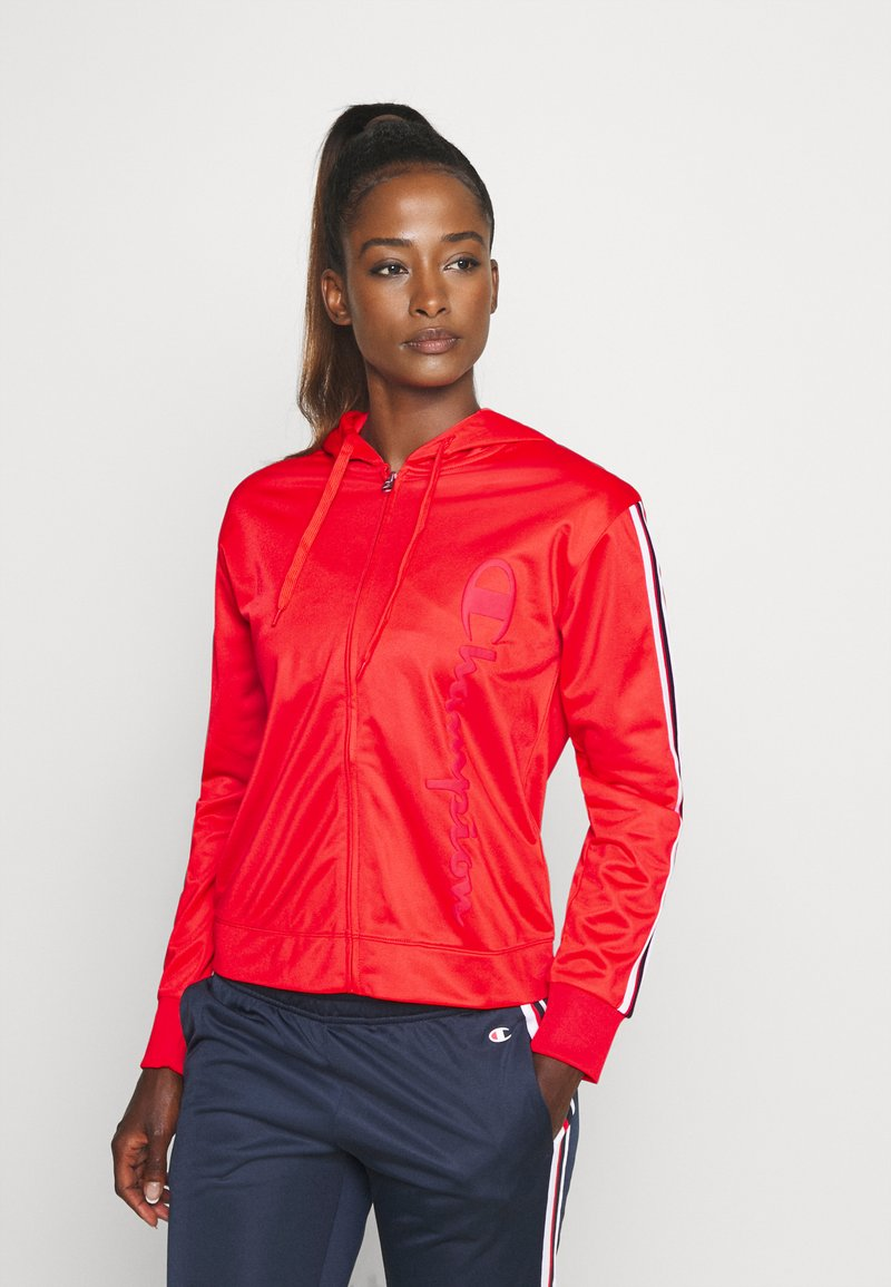 Champion - HOODED FULL ZIP SUIT LEGACY - Chándal - red