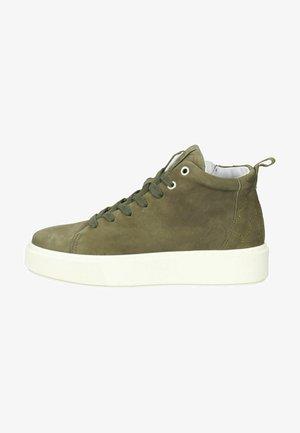 Sneakers hoog - moss green