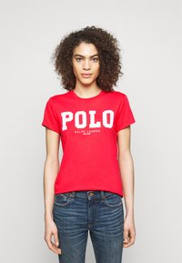 Polo Ralph Lauren - Triko spotiskem - bright hibiscus - 0