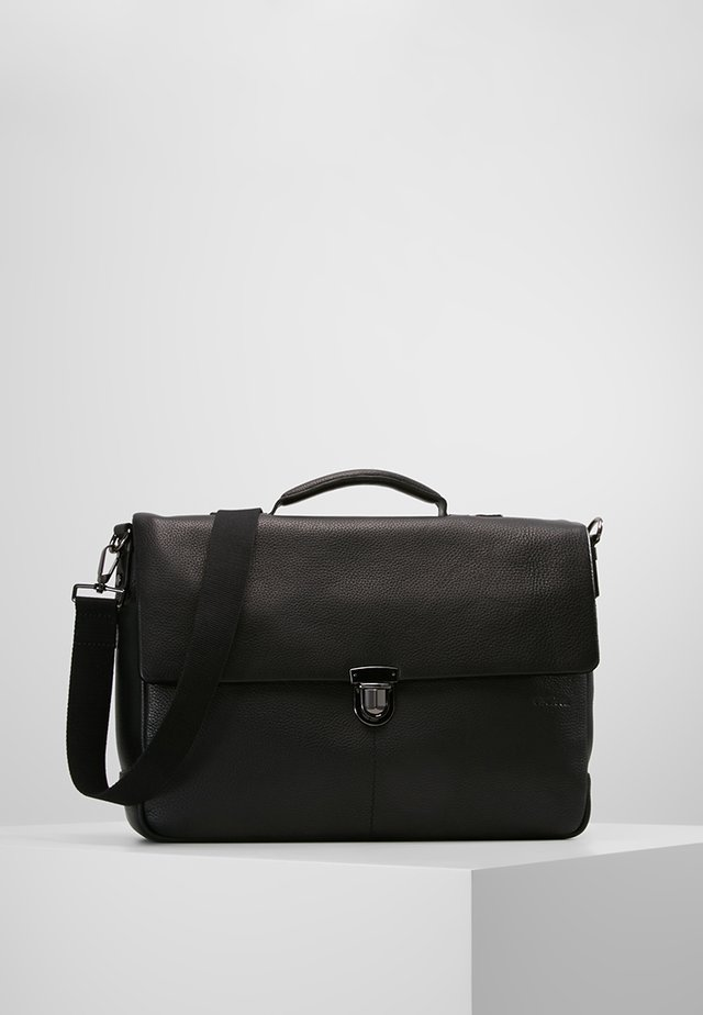 GARRET BRIEFBAG  - Aktovka - black