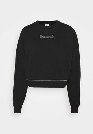 PIPING PACK CREWNECK - Sweater - black