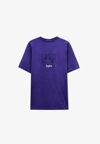 T-shirt imprimé - mauve