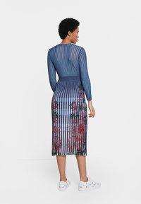 Desigual - CLOUD - Jumper dress - blue - 1