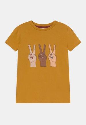 TEE UNISEX - T-shirt imprimé - harvest gold