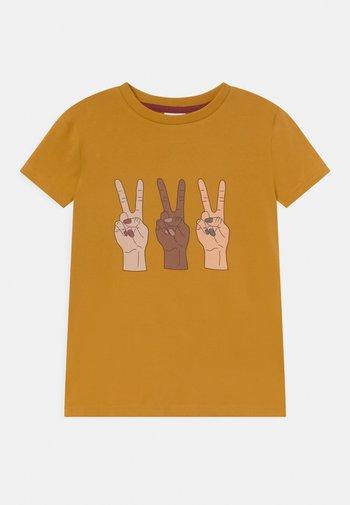 TEE UNISEX - Print T-shirt - harvest gold