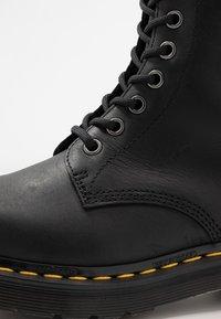Dr. Martens - 1460 WP - Platform ankle boots - black republic - 2