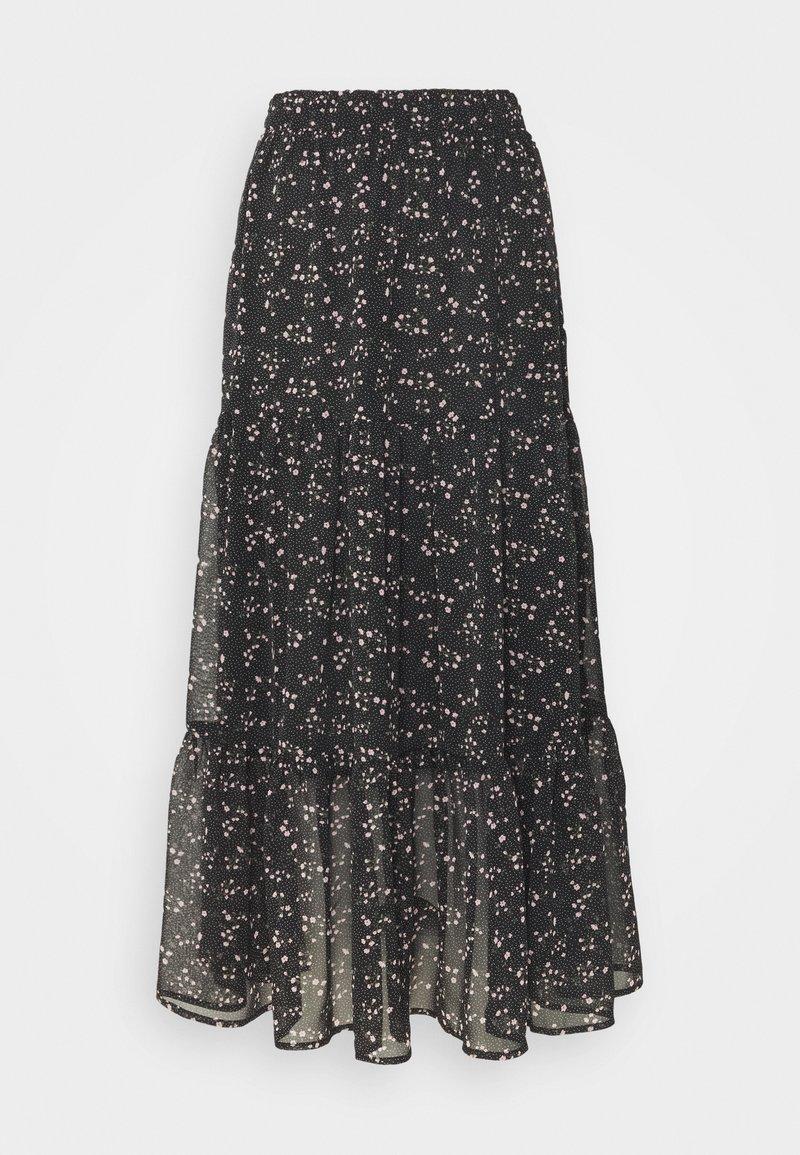 Vero Moda - VMTHALASSA SKIRT - A-line skirt - black