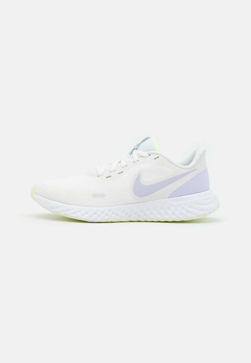 Nike Performance - REVOLUTION 5 - Neutral running shoes - summit white/pure violet/lime ice/volt glow/game royal/white