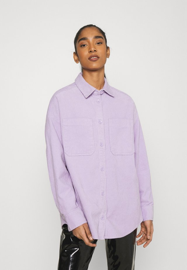 CONNY  SHIRT - Button-down blouse - purple solid