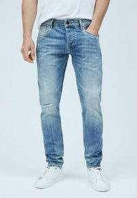 Pepe Jeans - STANLEY WORKS - Jeans Tapered Fit - denim - 0