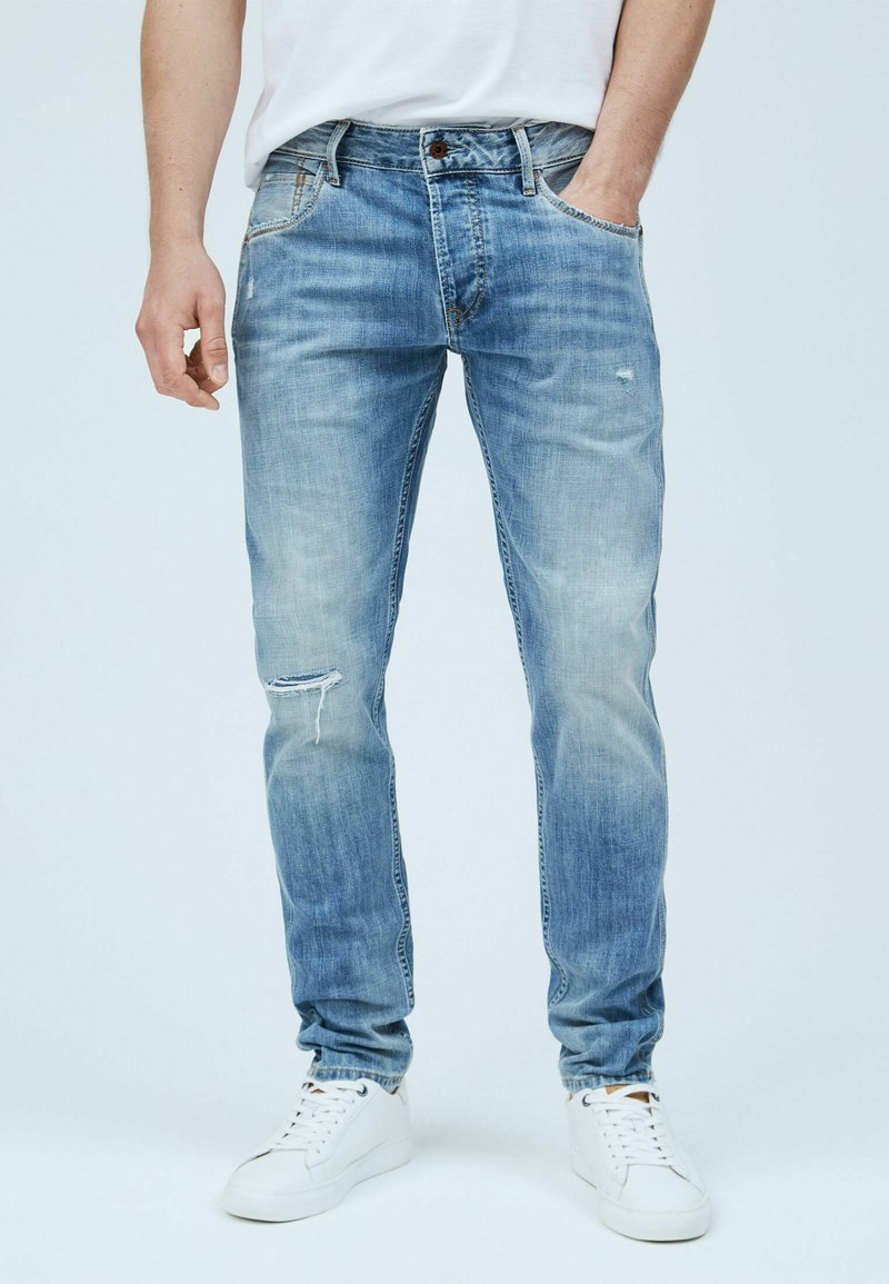 Pepe Jeans - STANLEY WORKS - Jeans Tapered Fit - denim