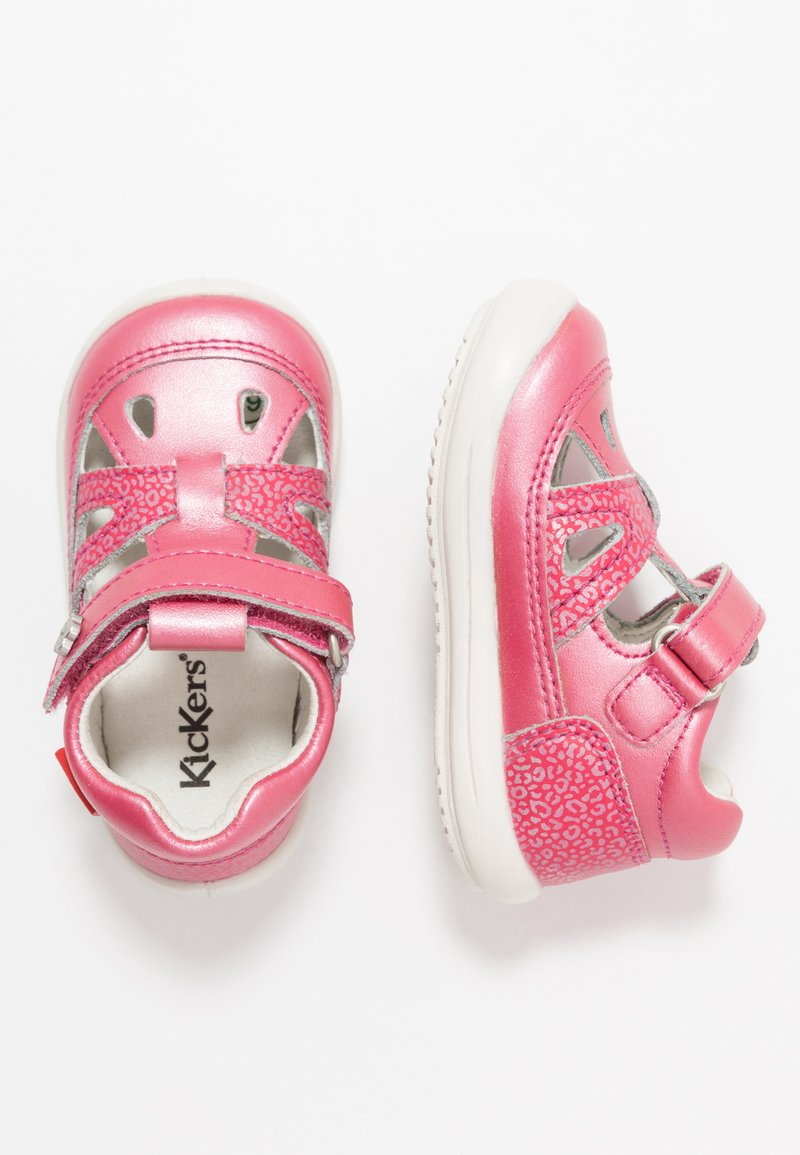 Kickers - KIKI - Zapatos de bebé - rose fonce