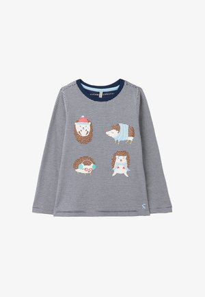 AVA - Sweatshirt - blauer igel