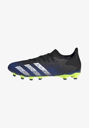 PREDATOR FREAK .3 MULTI GROUND - Fodboldstøvler m/ faste knobber - black