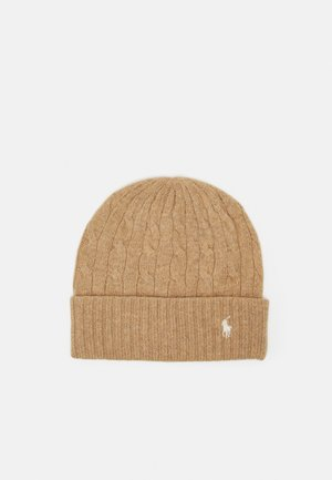 CLASSICCABLE HAT COLD WEATHER - Lue - camel