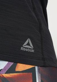 Reebok - TANK - Koszulka sportowa - black - 6