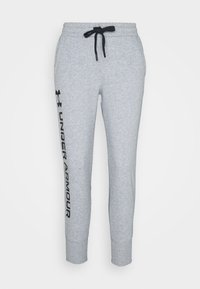 Under Armour - RIVAL SHINE JOGGER - Teplákové kalhoty - steel medium heather - 4