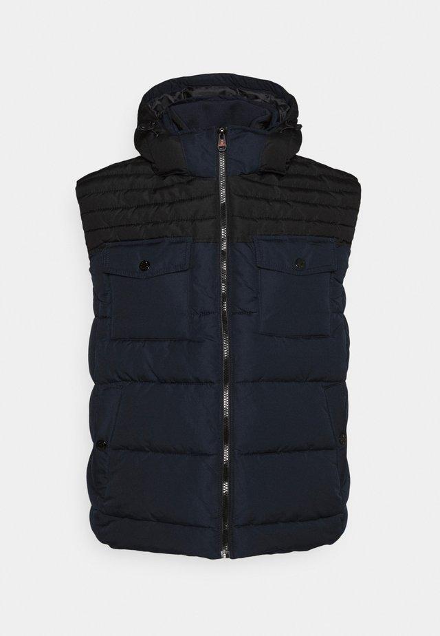 ÄRMELLOS - Waistcoat - dark blue