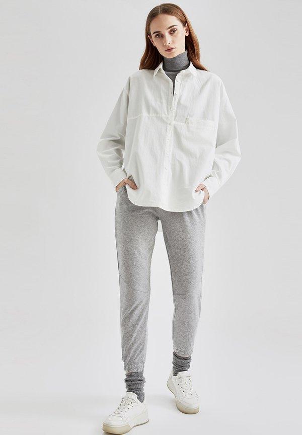 DeFacto Koszula - white/biały TSPO