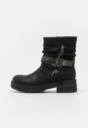 REGAN - Kovbojské/motorkářské boty - black