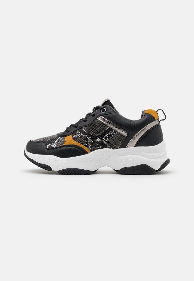 Sneakers basse - schwarz/grau