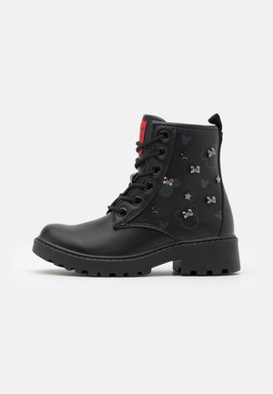 DISNEY CASEY GIRL - Lace-up ankle boots - black