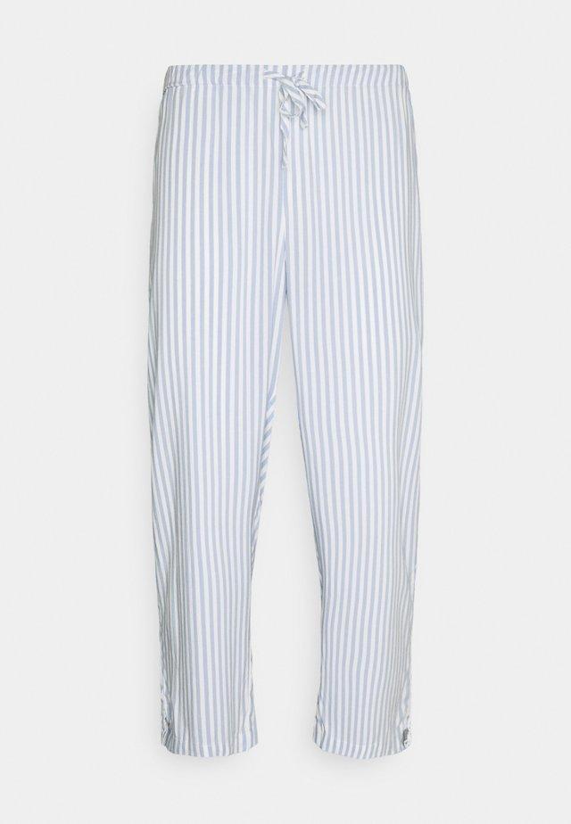 NIGHT TROUSERS STRIPE - Pantaloni del pigiama - blue