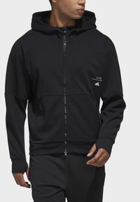 adidas Performance - MUST HAVES ENHANCED AEROREADY HOODED - Sweatjacke - black - 4
