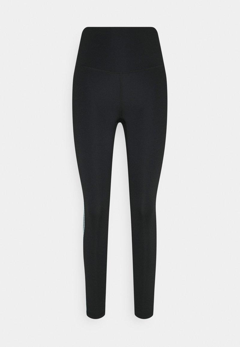 Nike Performance - CROCHET 7/8  - Medias - black/cerulean/sail/smoke grey