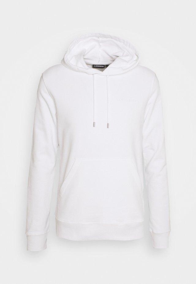 THROW CLEAN HOODIE - Sweatshirt - white