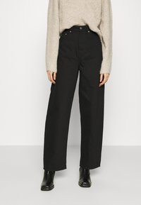ARKET - Relaxed fit jeans - black - 0