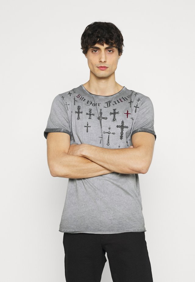 SIN CITY ROUND - T-shirt con stampa - anthracite