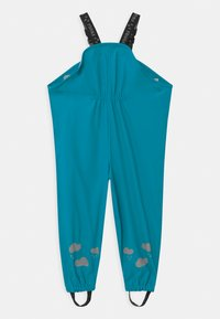 Frugi - PUDDLE BUSTER UNISEX - Rain trousers - tobemory teal - 1