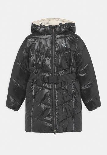 REVERSIBLE - Winter coat - black