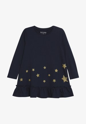 DRESS STAR - Robe en jersey - blau