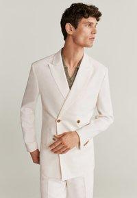 Mango - BRIEN-I - Blazer jacket - weiß - 0
