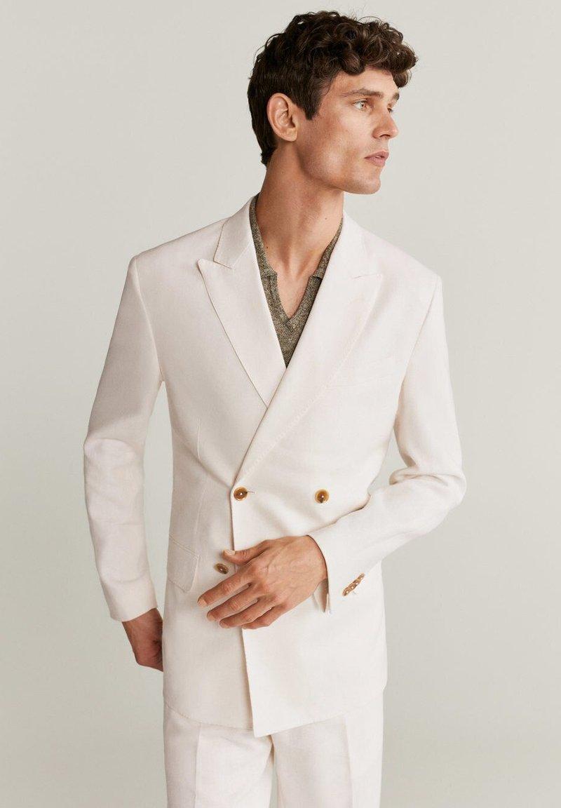 Mango - BRIEN-I - Blazer jacket - weiß