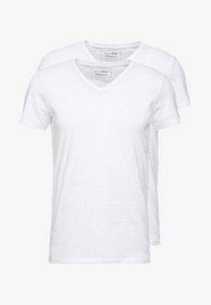 2 PACK - T-shirt basique - white