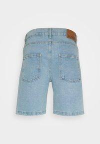 Kaotiko - BAGGY  - Denim shorts - blue - 1