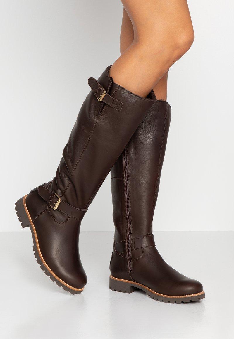 Panama Jack - AMBERES IGLOO TRAVELLING - Vysoká obuv - marron/brown