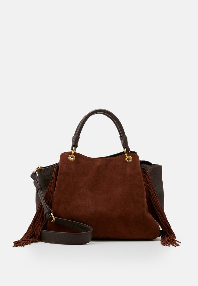 FRIZZLE - Handbag - brown