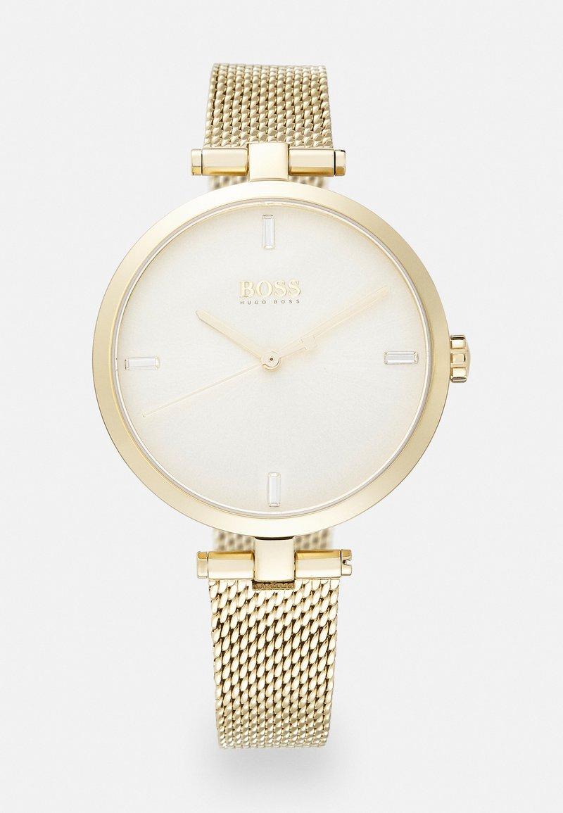 BOSS - MAJESTY - Watch - gold-coloured/white