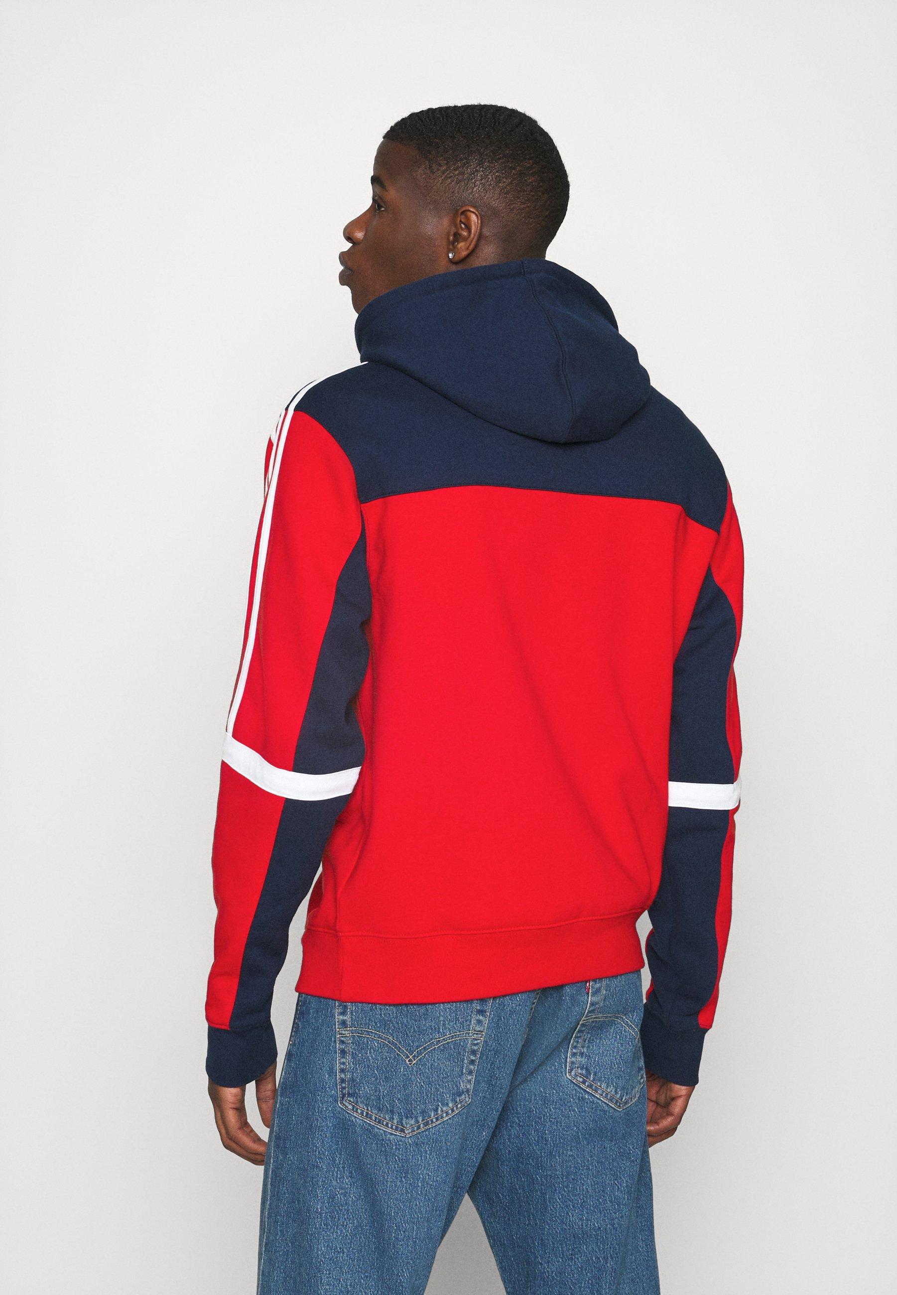 Adidas Originals Classics Hoody - Hoodie Scarle/conavy/rød