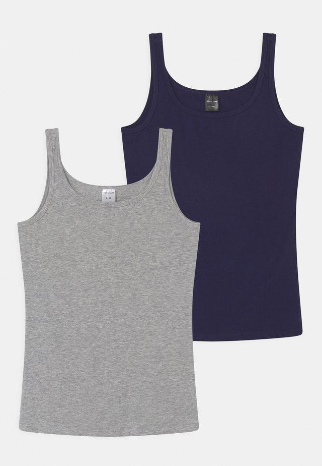 2 PACK - Unterhemd/-shirt - blue