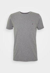 Tommy Hilfiger - SLUB TEE - Camiseta básica - grey - 4