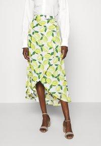 Fabienne Chapot - CORA SKIRT - Wrap skirt - yellow - 0