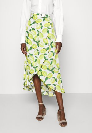 CORA SKIRT - Wrap skirt - yellow
