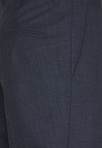 J.LINDEBERG - GRANT CHECKED PANTS - Suit trousers - mid blue - 5