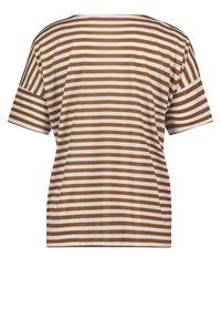 Betty & Co - T-shirt print - weiß/braun - 4