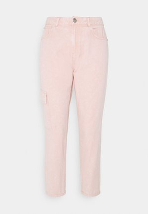 NMMABEL MOM POCKET ANKLE PANTS - Relaxed fit jeans - misty rose